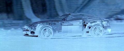 Unsichtbares Auto