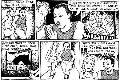 Comicstrip Dykes To Watch Out For von Alison Bechdel