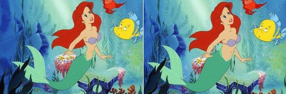 Arielle mit normaler Taille © Walt Disney Pictures© Loryn Brantz /Disney