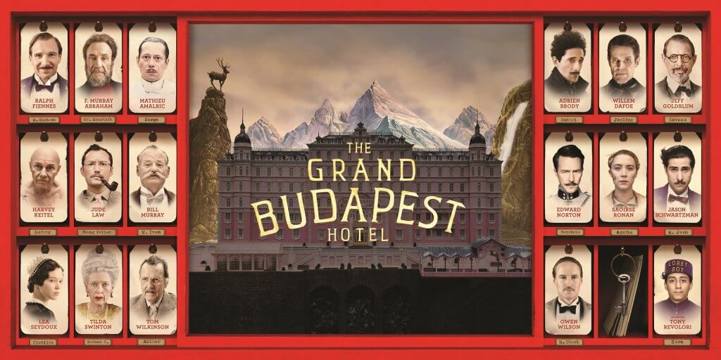 GRAND BUDAPEST HOTEL © 2014 Twentieth Century Fox Film Corporation. All rights reserved.