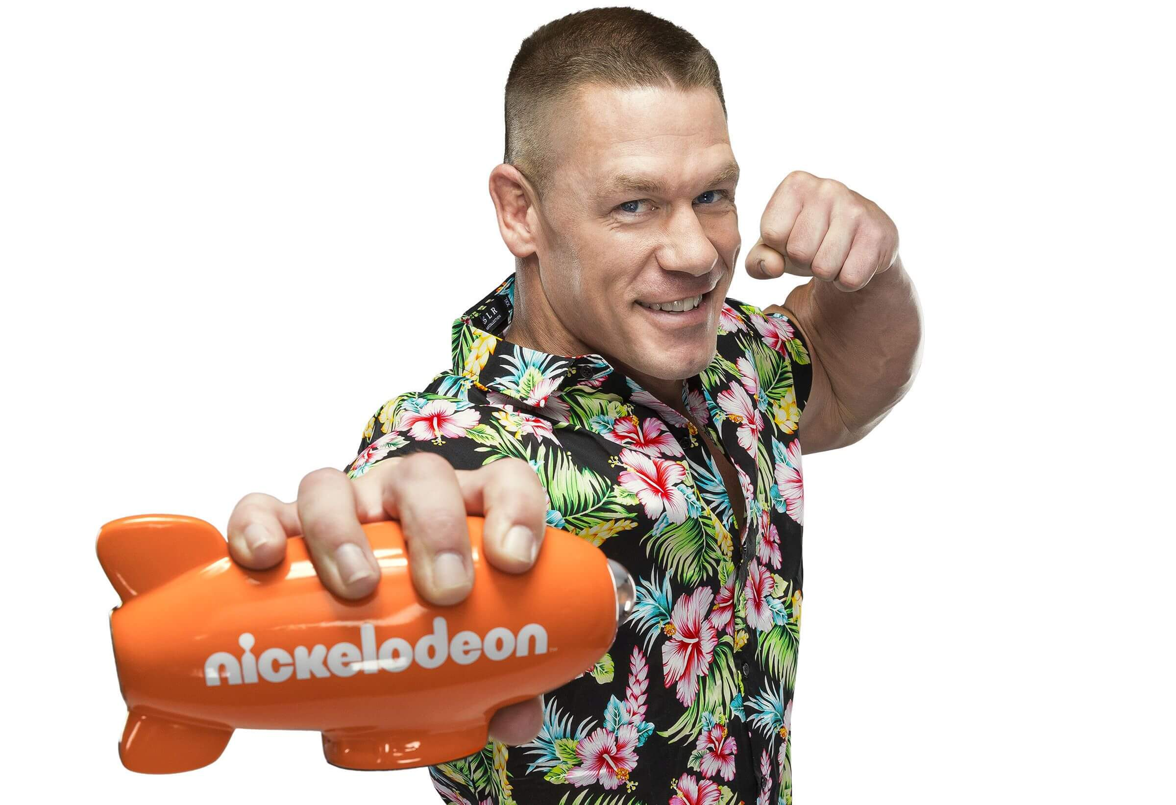 John Cena, Host der 2017 Kids' Choice Awards auf Nickelodeon.