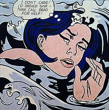 220px-Roy_Lichtenstein_Drowning_Girl