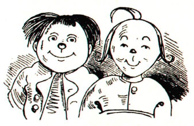 Foto: Wikipedia, Max und Moritz, Wilhelm Busch