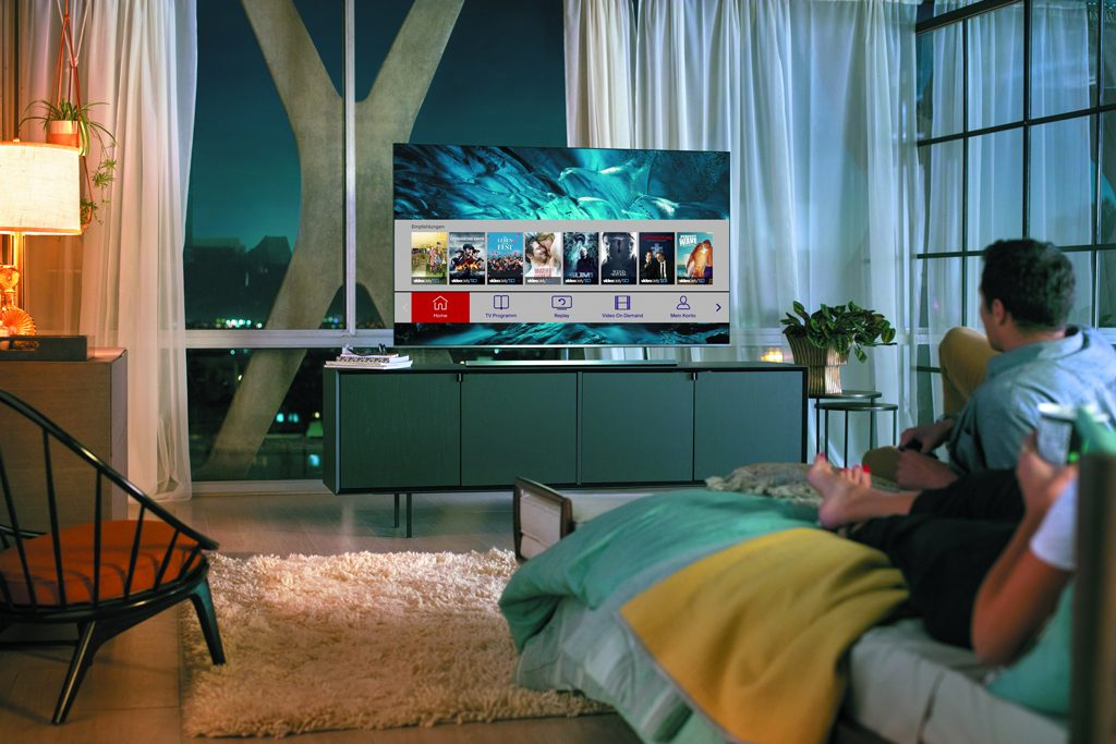 Weltneuheit: HD Austria startet hybride Smart-TV-App