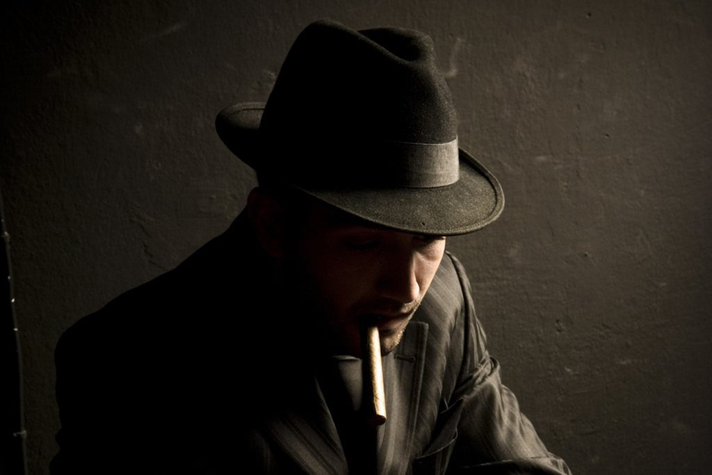 Hinter den Kulissen Rauchen