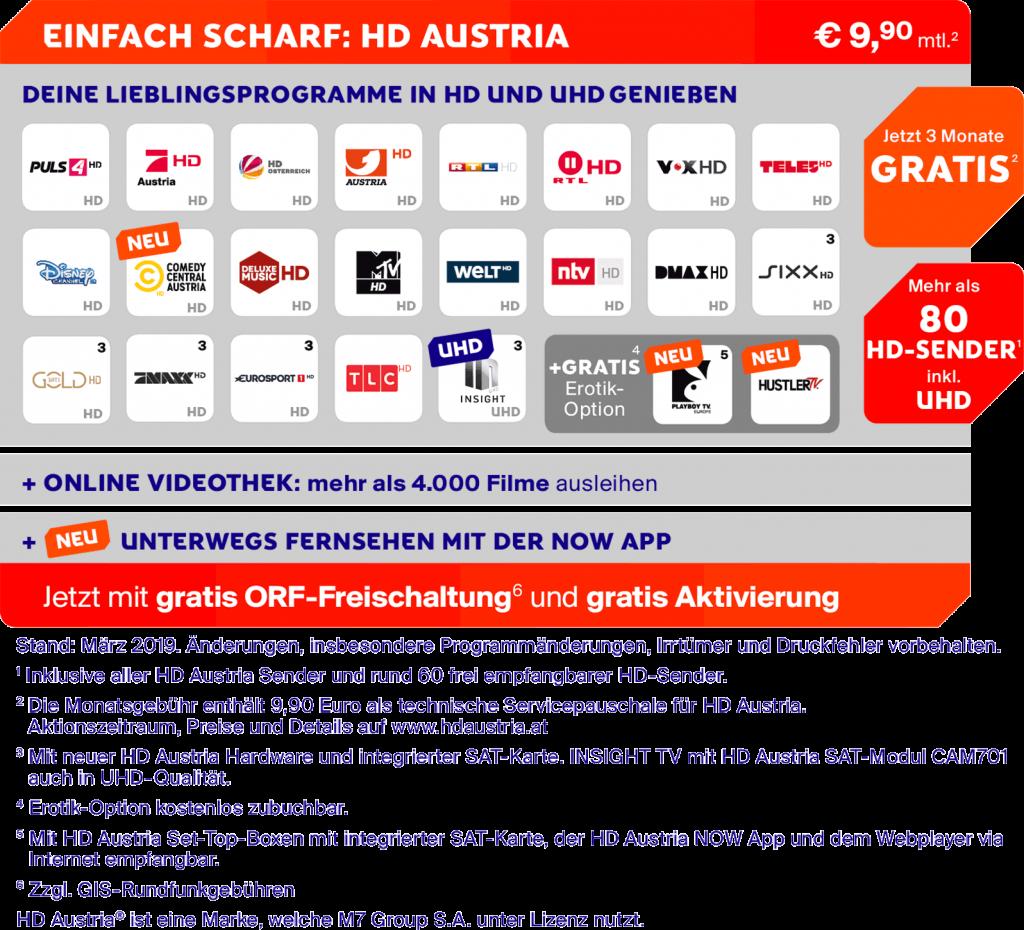 HD Austria Sender