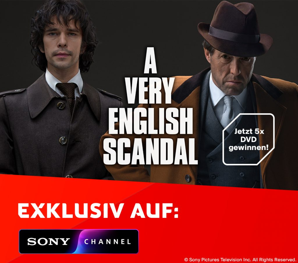 A very English Scandal Gewinnspiel