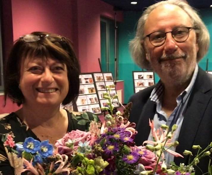 Festival Direktor Kaczek und rechte Hand Jelinek - Jüdisches Filmfestival