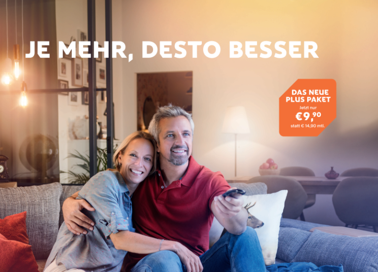 Je mehr, desto besser: das neue HD Austria Plus Paket